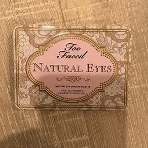 Too Faced natural eyes palette NEW
